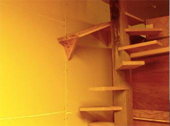 ペット用の階段